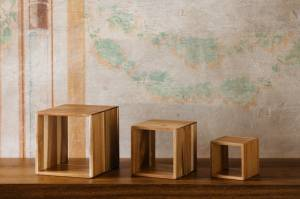 Set alzata cubo