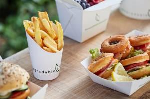 Bicchiere per fritti - Street food compostabile