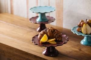 Alzata in ceramica Dalì